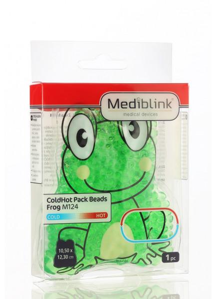 Mediblink Hladno-topli jastučić s kuglicama žaba M124