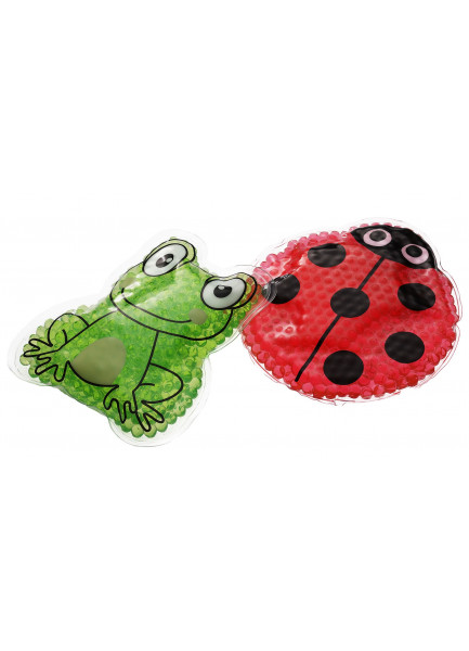 Mediblink Hladno-topli jastučić s kuglicama žaba M125