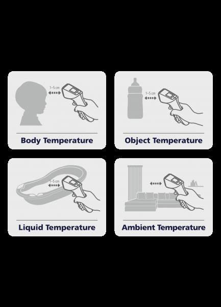 MEDIBLINK Bezkontaktni infracrveni termometar M340