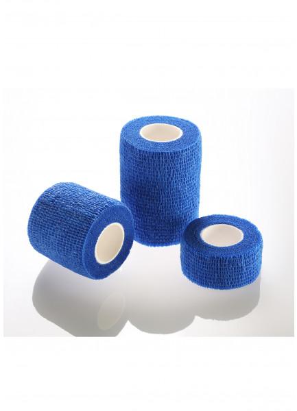 Mediblink samoljepljivi, elastični zavoj 5cmX4,5m plavi M144